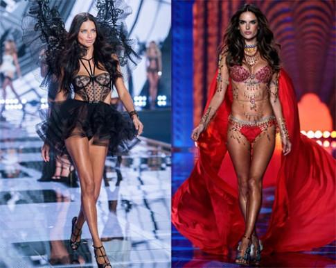 Show diễn đồ lót của Victoria's Secret 2015 tổ chức ở New York