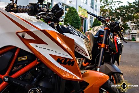 Song mã KTM 1290 Super Duke R tuyệt đẹp trong bộ ảnh thiên thần và ác quỷ tại Việt Nam