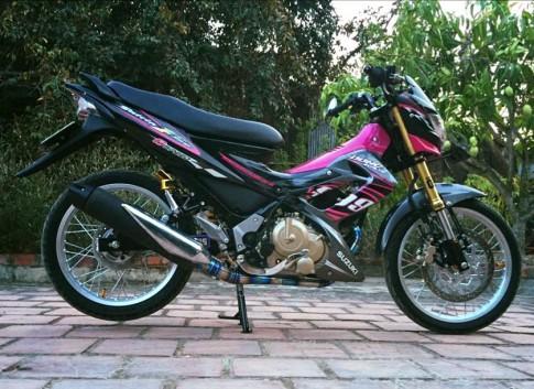 Suzuki raider 150cc con xe mang kieu dang hyper-underbone dam chat the thao