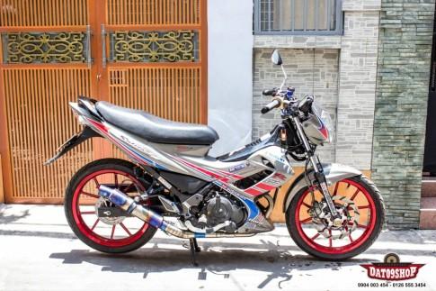 Suzuki Satria F150 do don gian nhung day an tuong