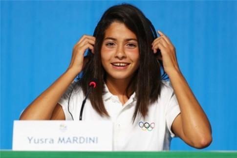 The gioi sot voi co gai ti nan Syria lap ki tich tai Olympic Rio 2016