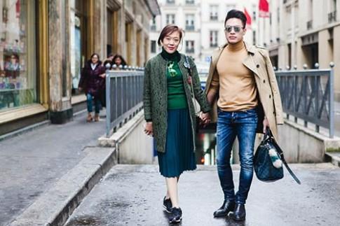 Thuy Trang bi che beo o kinh do thoi trang Paris