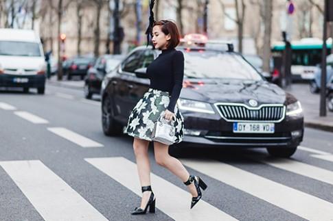 Tín đồ thời trang Việt lọt ống kính tạp chí Marie Claire ở Paris