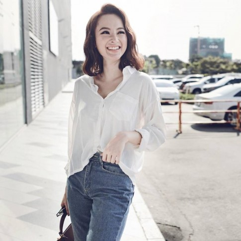 Váy áo 200-300 ngàn của Angela Phương Trinh gây sốt
