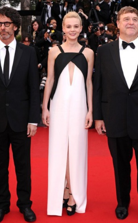 Vay phoi trang den - xu huong noi bat tai Cannes 2013