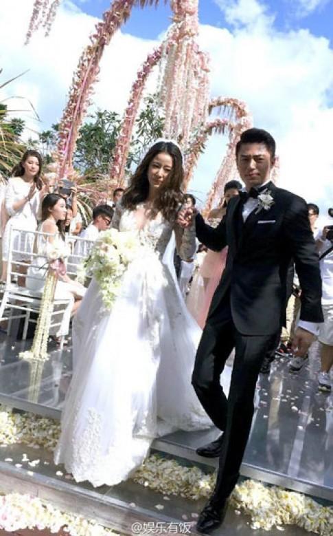 Váy, phụ kiện hàng hiệu của Lâm Tâm Như trong đám cưới