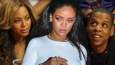 Beyonce va Jay Z tung chia tay nhau 1 nam vi Rihanna