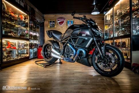 Cận cảnh chiếc Ducati Diavel siêu ngầu trong bản độ tiền tỷ