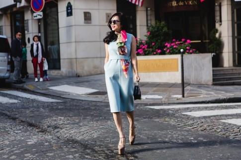 Giam doc thuong hieu Elise du Paris Fashion Show 2017