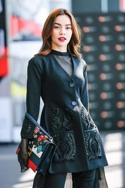 Hồ Ngọc Hà sành điệu tham dự Tokyo Fashion Week 2016