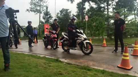 Honda Winner 150 voi Cam nhan va danh gia thuc te tai Vinh Phuc