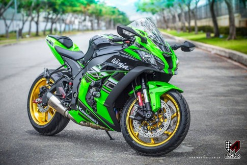 Kawasaki Ninja ZX-10R 2016 độ siêu khủng tại Việt Nam