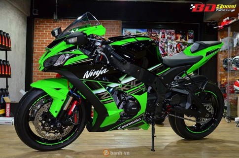 Kawasaki Ninja ZX-10R 2016 trong ban do cuc chat tu BD Speed Racing