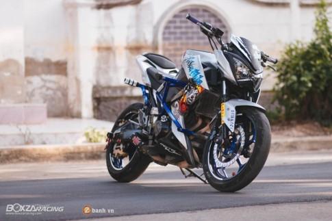 Kawasaki Z250 day chat choi trong phien ban Stunt Bike
