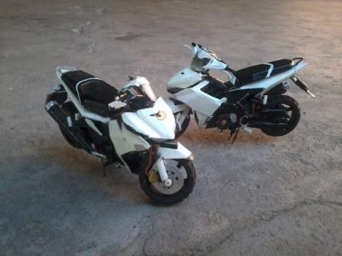 Mô hình Exciter 150 - Exciter 135 cực độc của biker Việt