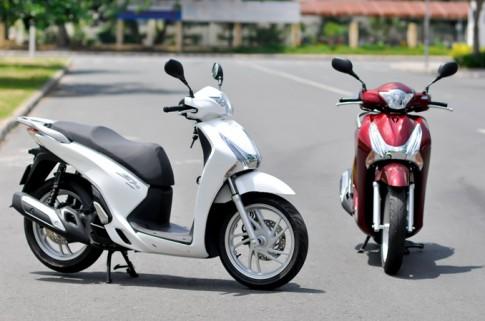 Người Việt mua gần 2,9 triệu xe máy trong năm 2015