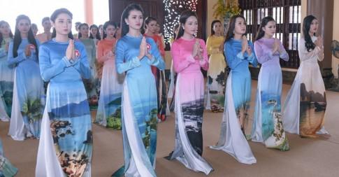Top 36 Hoa hậu Biển Việt Nam 2016 đọ sắc trong tà áo dài