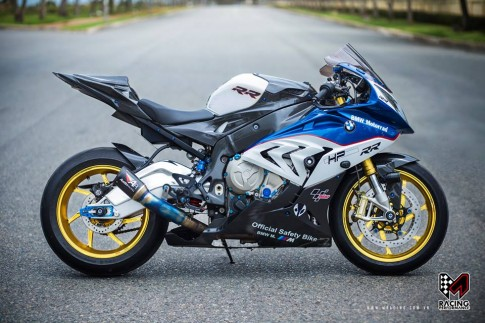 BMW S1000RR kich doc va cuc chat tu M-Racing