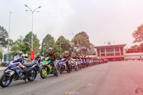 CLB Exciter Bien Hoa 6789 dieu hanh trong Ngay Hoi Van Hoa Gia Dinh 2016