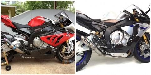 [Clip] So sanh tieng po Austin Racing GP2R tren BMW S1000RR va Yamaha R1