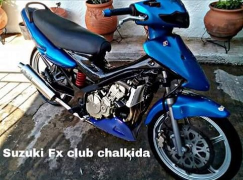Co phai chiec FX125 nay do may CBR600RR?