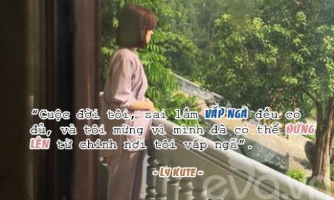Dau can co chong, Ly Kute van hanh phuc khi mot minh nuoi con!