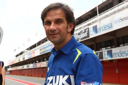 Doi dua Suzuki Ecstar duoc dieu hanh boi cuu quan ly cua Valentino Rossi