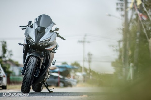 Honda CBR500R cuc chat trong ban do dang cap