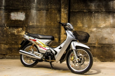 Honda Wave 110 don cuc chat tu dan choi Viet