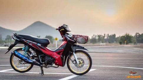 Honda Wave S độ nhẹ đầy cá tính tại Thái Lan