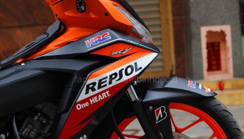 Honda Winner 150 Do phien ban Repsol cuc ky ngau
