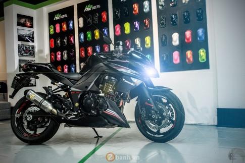 Kawasaki Z1000 chất chơi với hàng loạt option giá trị