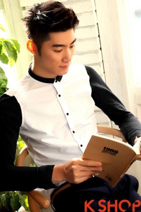 Mix Ao so mi nam dep nhu sao Han he 2017 cho chang trai sanh dieu