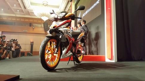 Một số hình ảnh của Honda RS150R vừa được ra mắt