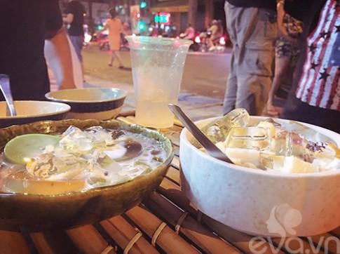 Ngay nong, rot nuoc mieng voi flan thap cam pho Tran Binh Trong