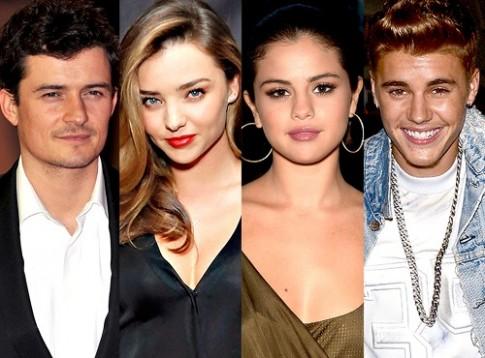 "Orlando Bloom - Selena Gomez: Moi quan he ""luan quan"""
