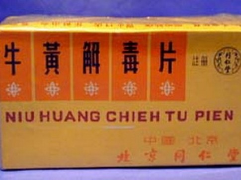 Phat hien thach tin trong thuoc dong y Trung Quoc