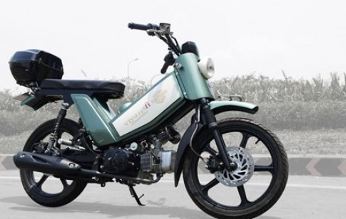 Suzuki Viva 115 mang kieu dang doc la tai Viet Nam