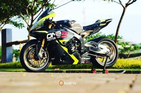 Yamaha R1M sieu chat trong phien ban duong dua tu One3 Motoshop