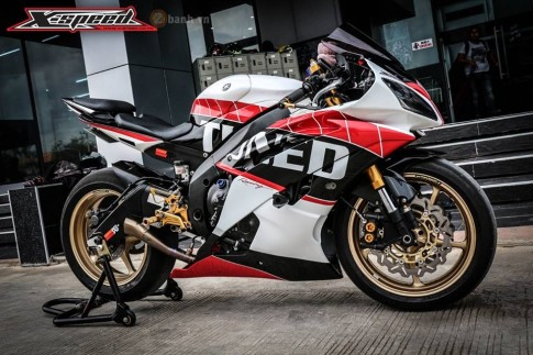Yamaha R6 dam chat the thao voi phien ban do Tuned