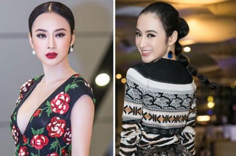 Angela Phuong Trinh trang diem dep khi nhan vao doi mat