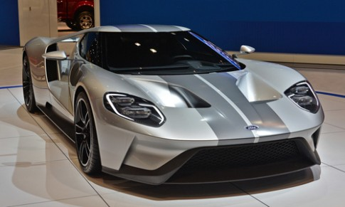 Anh chi tiet Ford GT concept