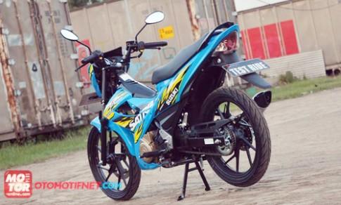 Anh chi tiet Suzuki Satria 150