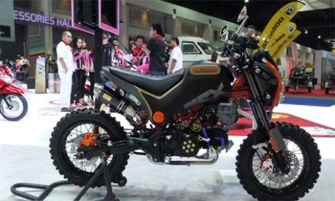 Ảnh Honda MSX độ cào cào