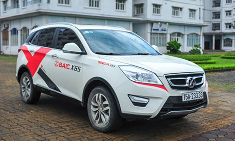 BAIC X65 - crossover gia re tai Viet Nam