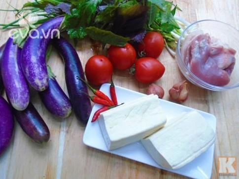 Cà tím bung thịt đậu đơn giản mà trôi cơm