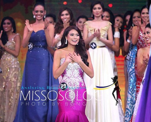 Cận cảnh nhan sắc tân Hoa hậu Hoàn vũ Philippines 2016