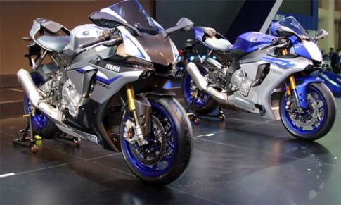 Cap Yamaha R1 va R1M 2015 tai Bangkok Motor Show 2015