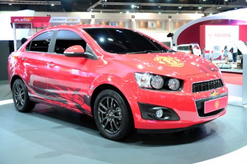 Chevrolet Sonic – phien ban Manchester United