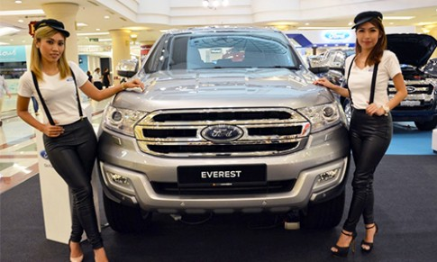 Chi tiet Ford Everest 2016 ra mat Malaysia